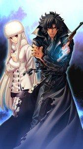 Fate-Zero.Irisviel von Einzbern.Kiritsugu Emiya.360x640
