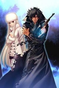Fate-Zero.Irisviel von Einzbern.Kiritsugu Emiya.640x960