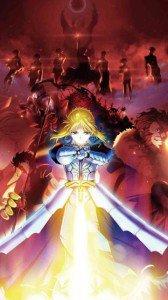 Fate-Zero.Saber (Arturia Pendragon).360x640