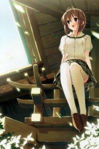 Yosuga no Sora.Akira Amatsume.320x480