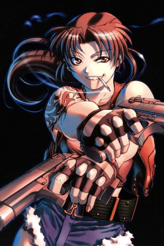 Black Lagoon Iphone Nokia Wallpapers