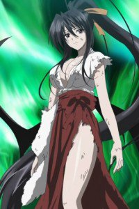 High School DxD.Akeno Himejima.320x480