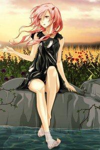 Guilty Crown.Inori Yuzuriha.640x960