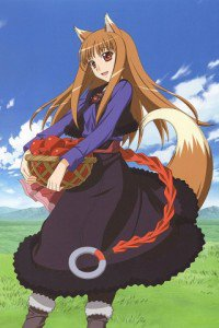 Spice and Wolf.Holo.320x480