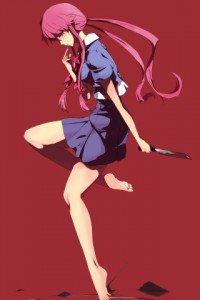Mirai Nikki.Yuno Gasai.320x480 (3)