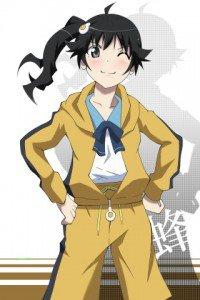 Nisemonogatari.Karen Araragi.320x480 (2)