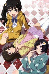 Nisemonogatari.Karen Araragi.Tsukihi Araragi.640x960 (4)