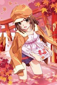 Nisemonogatari.Nadeko Sengoku.640x960 (6)