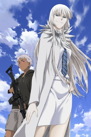 Jormungand wallpapers for iPhone 4 and iPhone 3G
