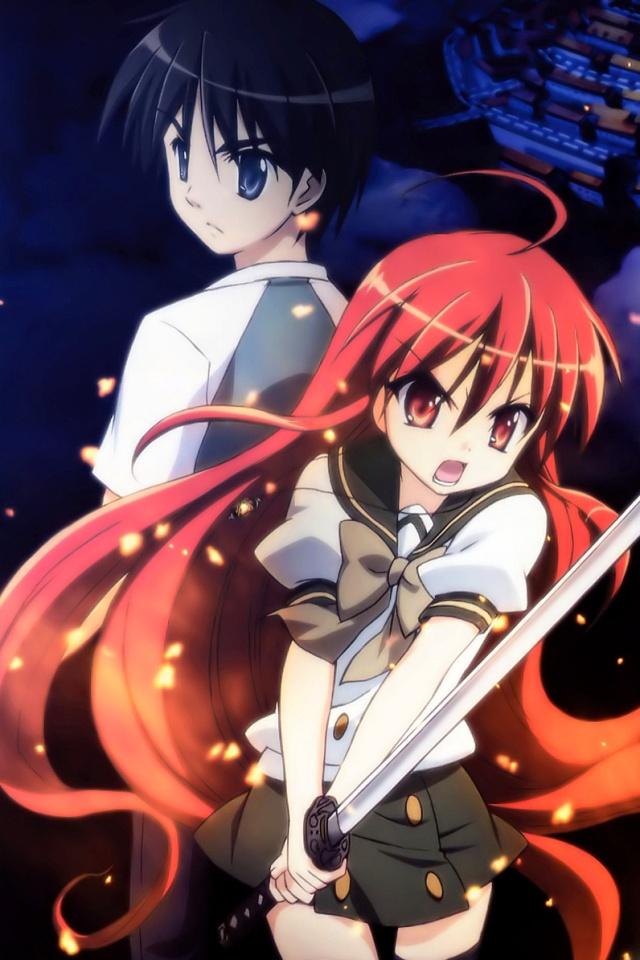 Favorite Anime Couples/Ships Shakugan-no-Shana-III.Shana_.Yuji-Sakai.640x960-2