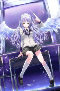 Angel Beats.Kanade Tachibana.640x960 (3)