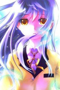 Angel Beats.Kanade Tachibana.640x960 (9)