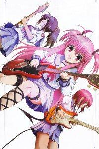 Angel Beats.Masami Iwasawa.Yui.Hisako.640x960