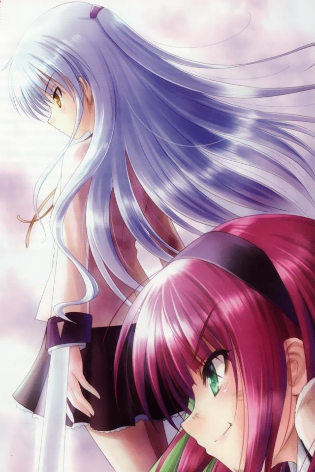 Angel BeatsYuri Nakamura YurippeKanade Tachibana640x960 3