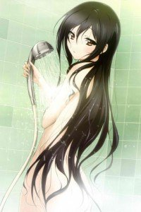 Accel World.Black Snow Princess Kuroyukihime Black Lotus.320x480 (14)