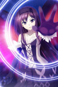 Accel World.Black Snow Princess Kuroyukihime Black Lotus.320x480 (16)