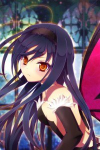 Accel World.Black Snow Princess Kuroyukihime Black Lotus.320x480 (27)