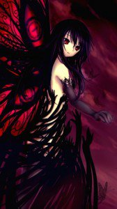 Accel World.Black Snow Princess Kuroyukihime Black Lotus.360x640 (24)