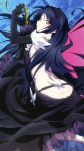 Accel World.Black Snow Princess Kuroyukihime Black Lotus.360x640 (30)