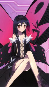 Accel World.Black Snow Princess Kuroyukihime Black Lotus.360x640 (6)
