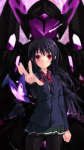 Accel World.Black Snow Princess Kuroyukihime Black Lotus.360x640 (8)