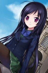 Accel World.Black Snow Princess Kuroyukihime Black Lotus.640x960 (13)