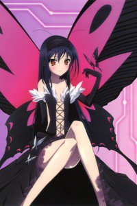 Accel World.Black Snow Princess Kuroyukihime Black Lotus.640x960 (15)