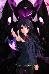 Accel World.Black Snow Princess Kuroyukihime Black Lotus.640x960 (16)