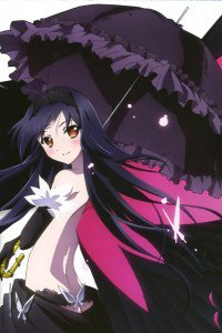 Accel World.Black Snow Princess Kuroyukihime Black Lotus.640x960 (28)