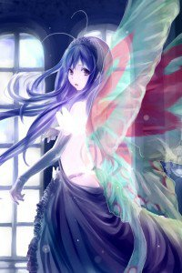 Accel World.Black Snow Princess Kuroyukihime Black Lotus.640x960 (4)