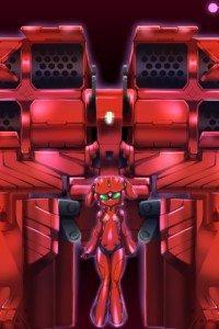 Accel World.Yuniko Kozuki Scarlet Rain Niko.320x480