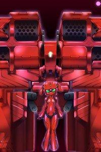 Accel World.Yuniko Kozuki Scarlet Rain Niko.640x960