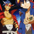 Tengen Toppa Gurren Lagann wallpapers for iPhone (320×480), iPhone 4, Nokia (360×640). Simon, Kamina, Yoko Littner, Nia Teppelin! Genre: Action, Adventure, Comedy-drama, Mecha. For hundreds of years people live in...