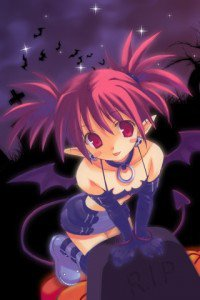 Halloween anime.320x480 (1)
