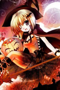 Halloween anime.320x480