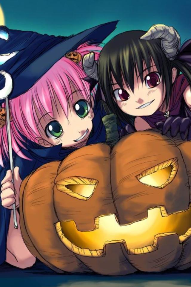 Download image Halloween 2012 Anime 640x960 16 Kawaii Mobile PC ...