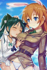 Strike Witches.Francesca Lucchini.Charlotte E. Yeager.320x480 (3)