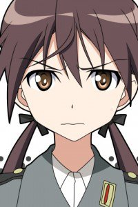 Strike Witches.Gertrud Barkhorn.320x480 (1)