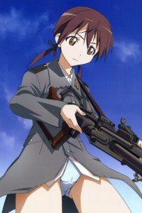 Strike Witches.Gertrud Barkhorn.320x480 (3)