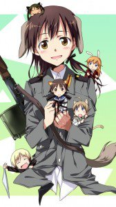 Strike Witches.Gertrud Barkhorn.360x640