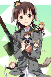 Strike Witches.Gertrud Barkhorn.640x960 (3)