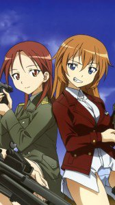 Strike Witches.Minna-Dietlinde Wilcke.Charlotte E. Yeager.360x640