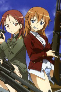 Strike Witches.Minna-Dietlinde Wilcke.Charlotte E. Yeager.640x960