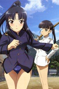 Strike Witches.Mio Sakamoto.Shizuka Hattori.640x960