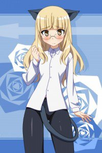 Strike Witches.Perrine-H. Clostermann.320x480