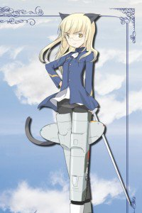Strike Witches.Perrine-H. Clostermann.640x960