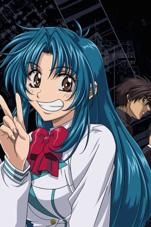 New Charakters  Full-Metal-Panic.Sousuke-Sagara.Kaname-Chidori.640x960