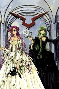 Code Geass Akito the Exiled.С.C. Fly E154 wallpaper.Euphemia li Britannia.320x480