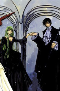 Code Geass Akito the Exiled.С.C. Fly IQ245 wallpaper.Lelouch.320x480