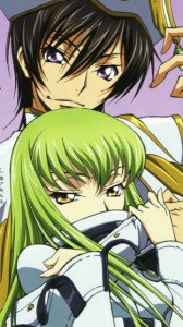Code Geass Akito the Exiled.С.C. Nokia E7 wallpaper.Lelouch.360x640